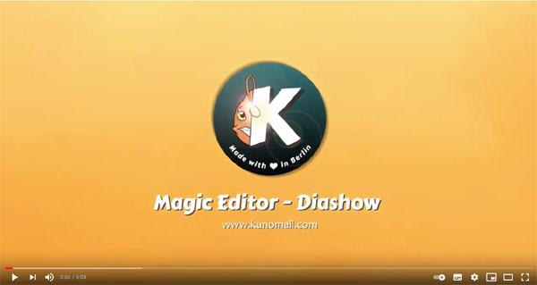 Magic Editor Tutorial (Diashow)